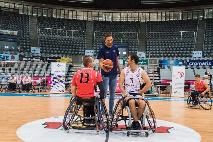 RWBL: Domagoj Vuković visited wheelchair basketball tournament in Zadar