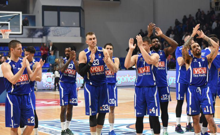 Budućnost VOLI prevailed over Cedevita Olimpija in Morača
