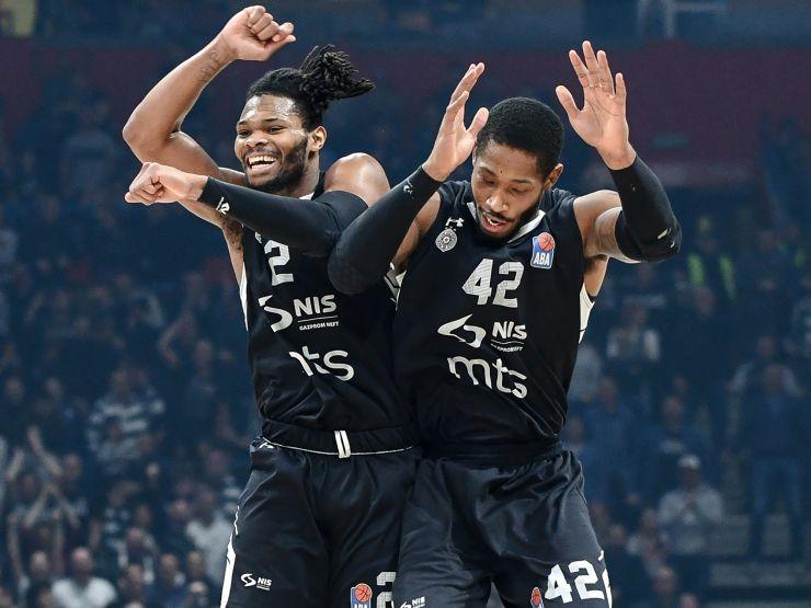 Europcar Photo of the Round: Joy of Partizan NIS players
