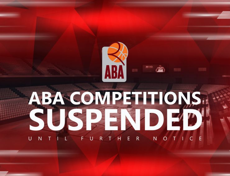 ABA competitions suspended
