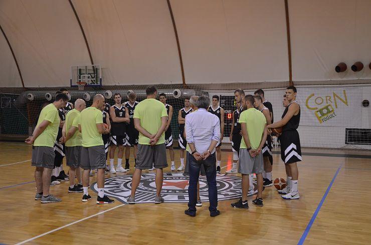 Partizan NIS began preparations for 2018/19 season
