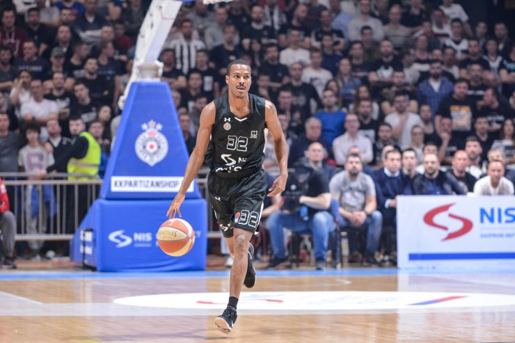 Alex Renfroe leaves Partizan NIS to continue his career in Zenit