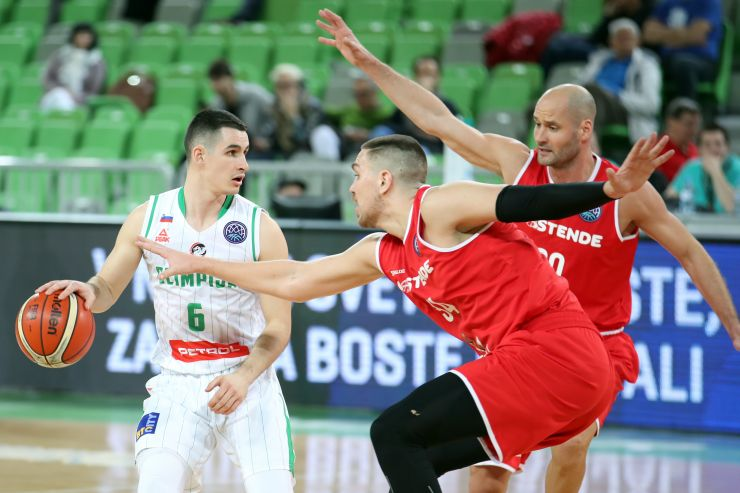 BCL: Petrol Olimpija defeated by Oostende