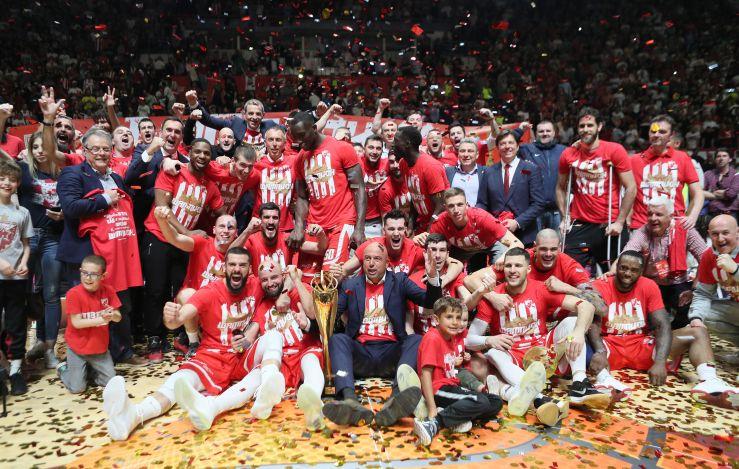 Crvena zvezda mts are back on the ABA League throne