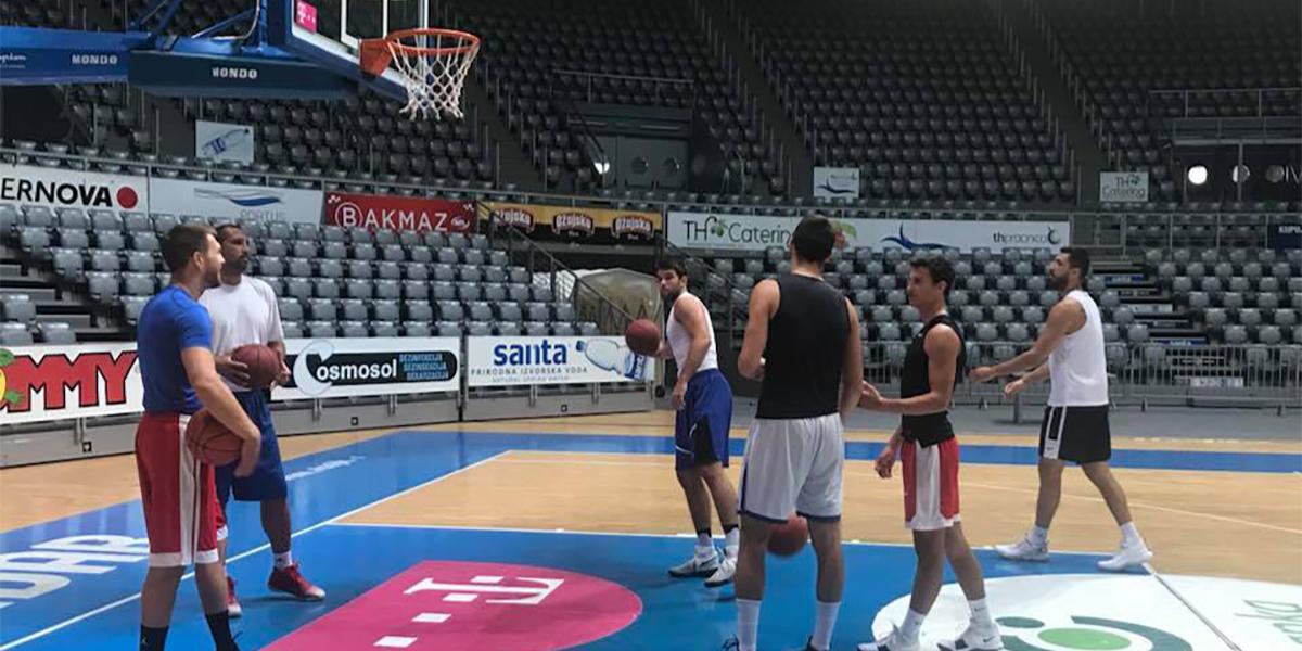 The training camp of Zadar has begun