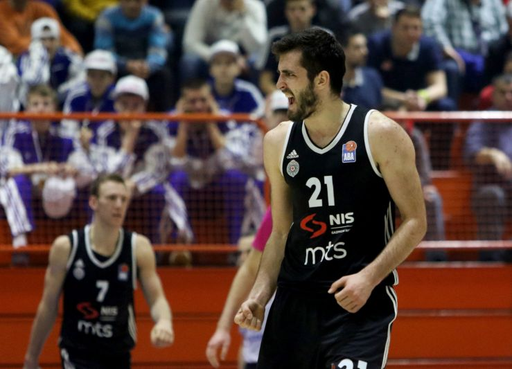 Partizan NIS beat Mega in Sremska Mitrovica