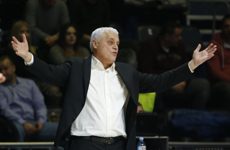 Miroslav Nikolić is no longer head coach of Partizan NIS
