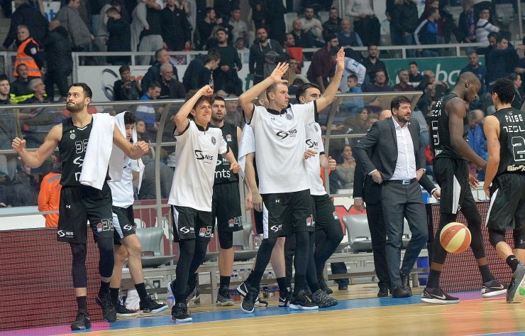 Partizan NIS grab an overtime win in nearly packed Višnjik