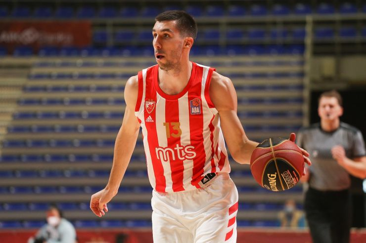 EL: Crvena zvezda mts were defeated by AX Armani Exchange Milan : ABA League