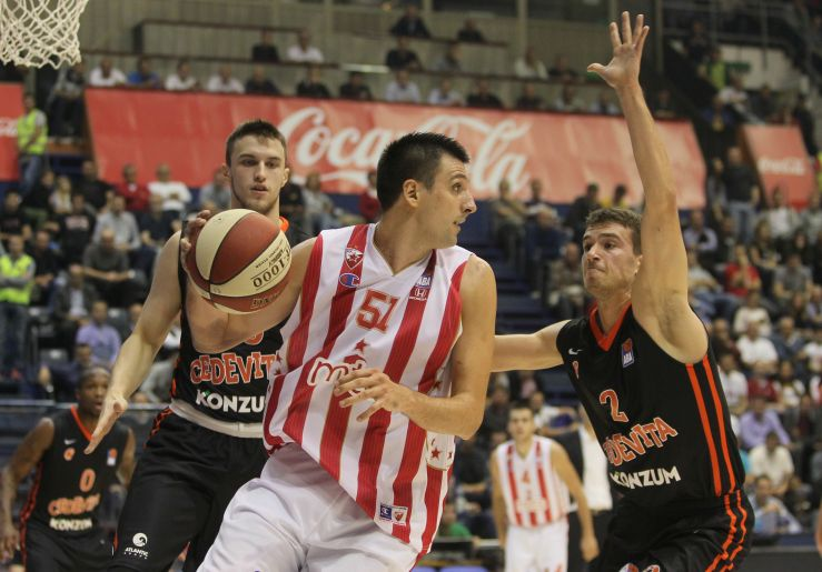 Crvena zvezda mts and Zadar defeated