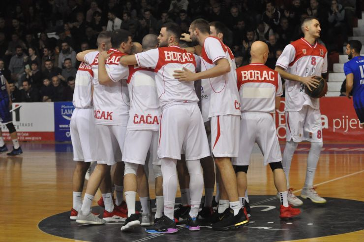 Borac have qualified for the 2019 ABA 2 Playoffs
