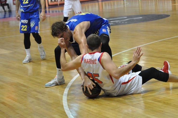 Semi-finals, Round 2, Borac - Sixt Primorska, highlights