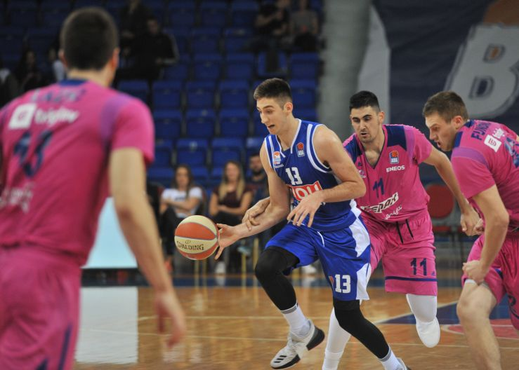 Budućnost suffered road defeat in Istanbul