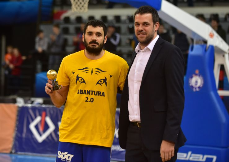 Marko Jagodić Kuridža is the MVP of the 2019 ABA 2 Playoffs