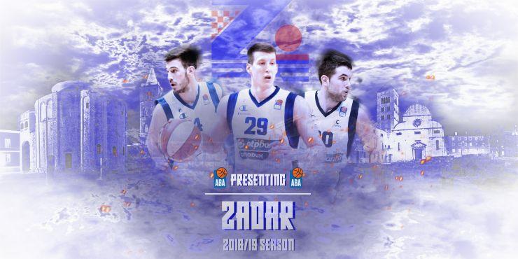 2018/19 ABA League Teams – Zadar