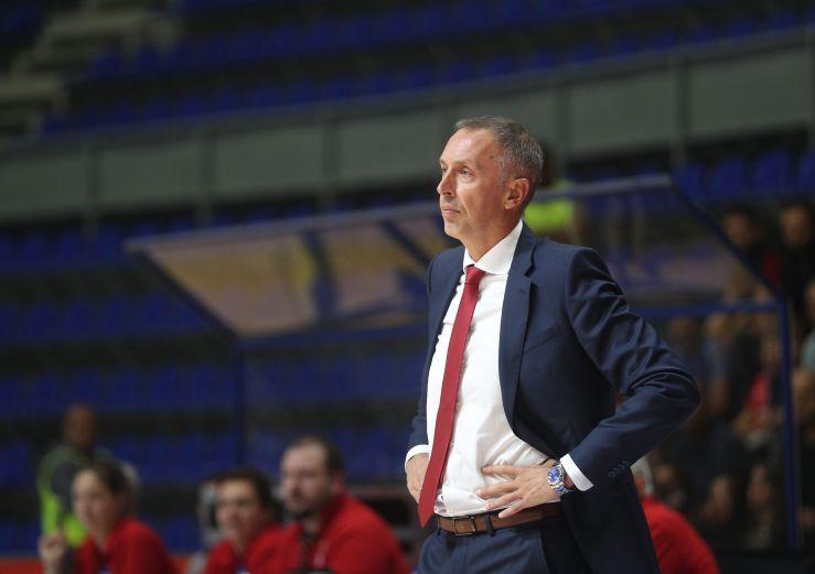 Crvena zvezda mts part ways with head coach Milan Tomić