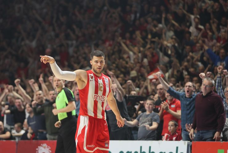 Billy Baron extends contract with Crvena zvezda mts