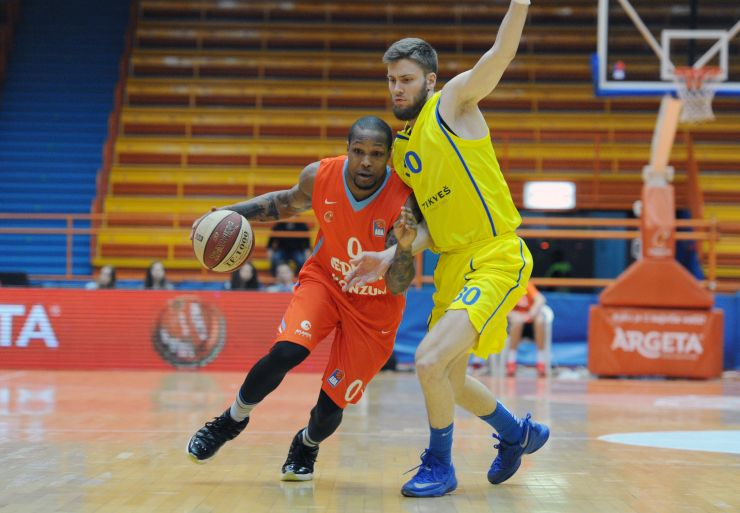 Cedevita prevailed over Karpoš Sokoli after a thrilling game in Zagreb