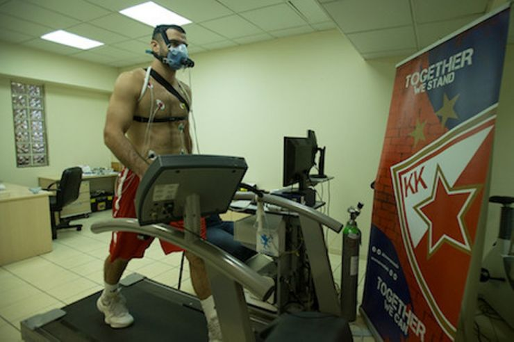 Crvena zvezda mts started with preparations for the new season