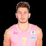 Player Aleksa Uskoković