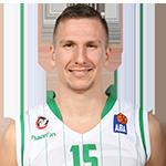 Player Gregor Hrovat