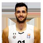 Player Mihajlo Andrić