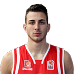 Player Mihailo Radunović