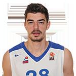 Player Stefan Gligorijević