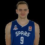 Player Sandi Grubelič