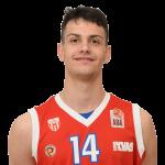 Player Aleksa Krsmanović